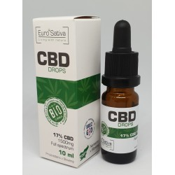 17% CBD drops 10ml