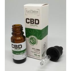 17% CBD kapljice 2 kos, Neredčen Original
