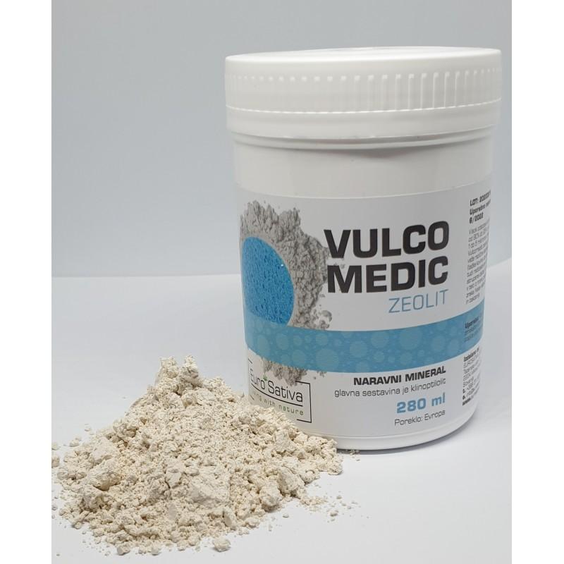 VULCO-MEDIC (Zeolit aktiviran Klinoptilolit) 280ml 2 kos (akcija 1+1gratis)